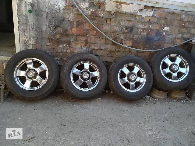 продам Диск с шиной R 17 для Mitsubishi Pajero бу в Днепре (Днепропетровск)
