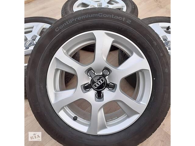 продам Диски + шини Audi R16 5x112 A4 A6 VW Passat B6 Golf Jetta Skoda Superb бу в Львове