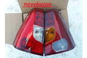 Нові ліхтарі задні Dacia Logan