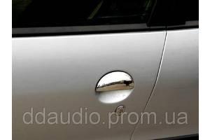 Хромированные накладки Peugeot 206
