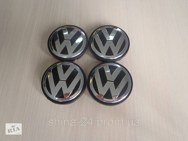 бу Колпачки заглушки на литые диски Volkswagen / Фольксваген 1J0 601 171 56/52/7 мм. VW в Кременчуге