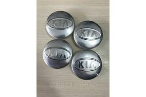 Колпачки заглушки в литые диски KIA/Киа  58/49/11 мм. C5314K58 Хром