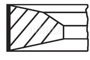 Кольца поршневые Mercedes Actros