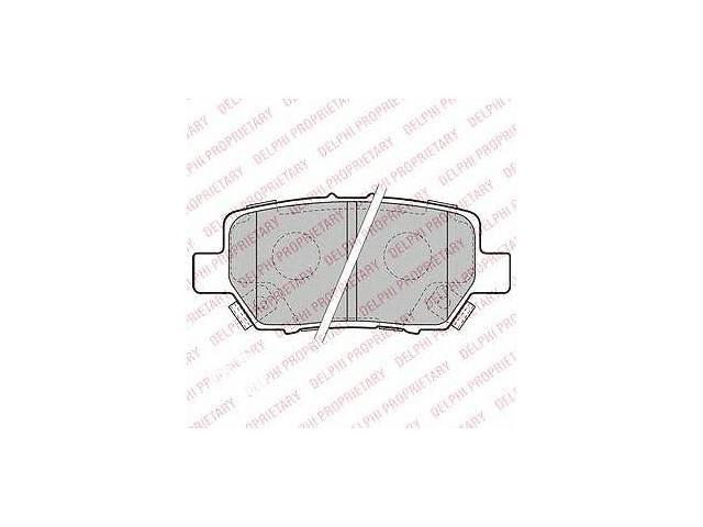 бу Комплект тормозных колодок, дисковый тормоз DELPHI для HONDA LEGEND IV в Одесі