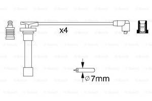 Комплект высоковольтных проводов ROVER 400 (XW) / HONDA LOGO (GA) 1987-2002 г.