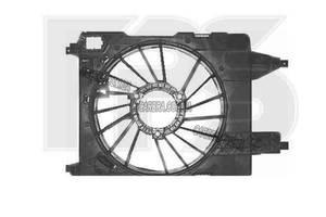 Кожух вентилятора радиатора RENAULT MEGANE 03-06 (КРОМЕ SCENIC)