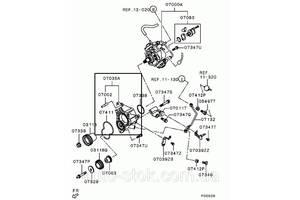 б/у Насосы топливные Mitsubishi Pajero Wagon