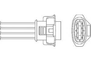 Датчики кислорода Opel Vectra