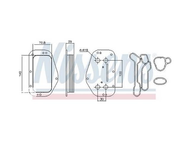 продам Масляный радиатор SAAB / FIAT / OPEL / ALFA ROMEO / VAUXHALL / CHEVROLET бу в Одессе