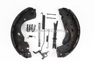 Механизм тормозной левый под барабан Nissan Navara (D40) 05-13 (Навара)