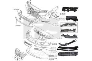 Молдинги заднего/переднего бампера Volkswagen Passat B6