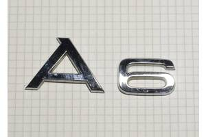 Надпись A6 4F0853741 2ZZ для Audi A6 (C6,4F) 2005-2011