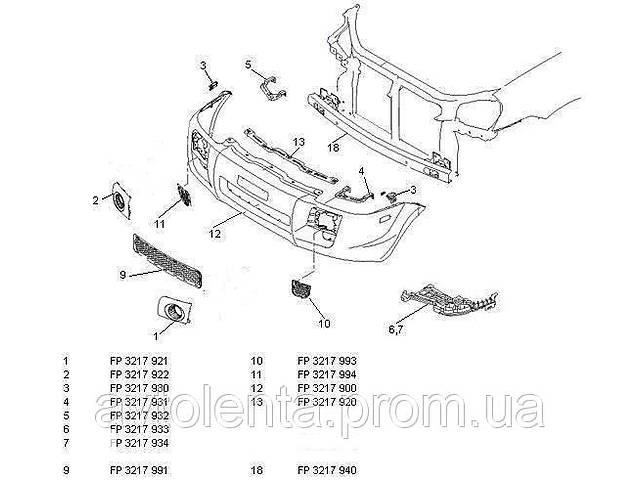 Накладка под капот для Hyundai Tucson 2004-2010 (JM)- объявление о продаже  в Києві