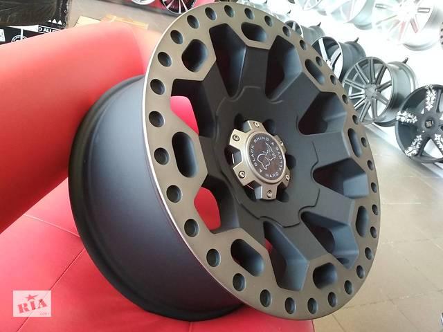 Новые диски производства США Black RHINO WARLORD, для Jeep/FORD F150/Dodge G- объявление о продаже  в Харкові