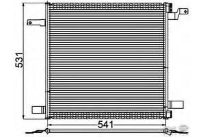 Новые Радиаторы кондиционера Mercedes ML-Class