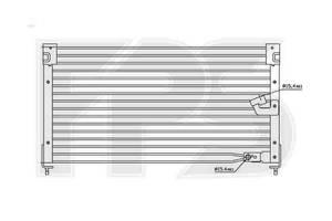 Новые Радиаторы кондиционера Honda Accord