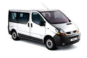 стелі Nissan Primastar