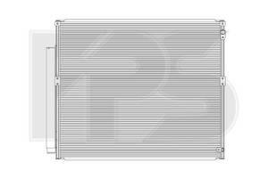 Радиаторы кондиционера Toyota Land Cruiser Prado 120