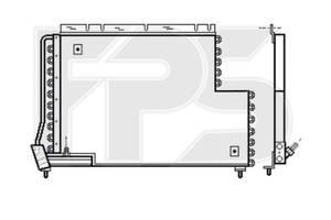 Радіатор кондиціонераVolvo 960 / S90 / V90 (AVA) FP 72 K456-X