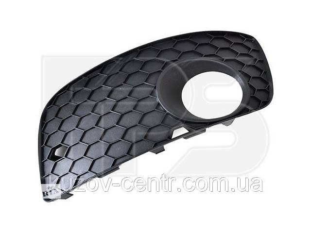 продам Решетка в бампере правая Volkswagen Golf V 04-09 GTi (FPS) закрытая, с отверстием птф бу в Киеве