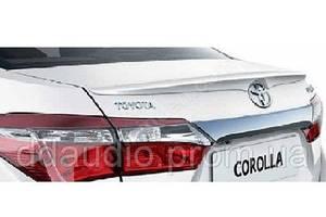 Спойлеры Toyota Corolla