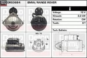 Стартеры/бендиксы/щетки Land Rover Range Rover