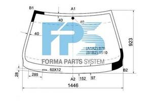 Новые Стекла лобовые/ветровые BMW 5 Series