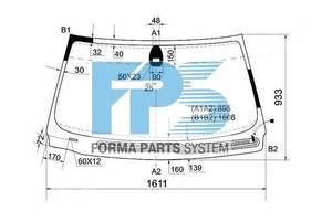 Новые Стекла лобовые/ветровые BMW 7 Series