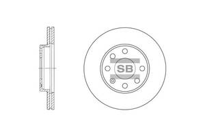 Тормозной диск DAEWOO / OPEL / BUICK (SGM) / VAUXHALL / CHEVROLET (SGM)