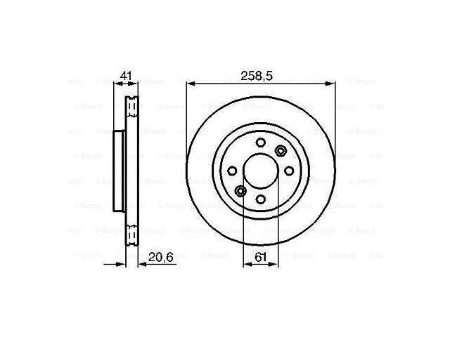 Тормозной диск передний CITROEN C3 I   2003-   \  DACIA LOGAN   2004-   \  LOGAN EXPRESS- объявление о продаже  в Одессе