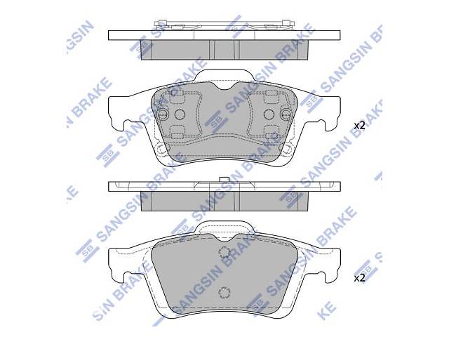 продам Тормозные колодки VOLVO / CADILLAC / PEUGEOT (DF-PSA) / SEAT / CITROEN / MAZDA / VW / HAIMA (FAW) бу в Одесі