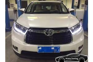 Новые Фары Toyota Highlander