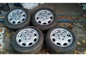 б/у диски с шинами Mercedes 240