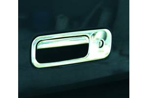 Volkswagen Caddy 2004-2010 гг. Накладка на ручку багажника (нерж) Carmos - Турецкая сталь