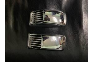 Volkswagen UP 2011↗ рр. Решітка на повторювач `Прямокутник` (2 шт., ABS)
