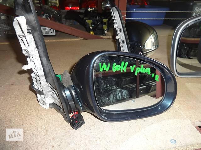 продам зеркало для Volkswagen Golf Plus 2005-09 6pin бу в Львове