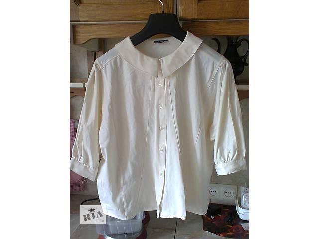 Женская блуза с отложным воротником- объявление о продаже  в Киеве