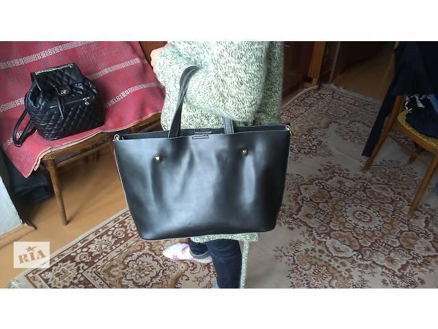 Женская кожаная сумка из Италии!- объявление о продаже  в Вышгороде
