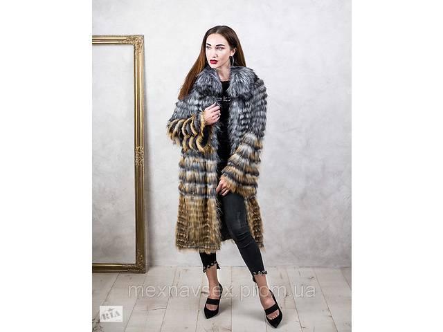 Кардиган из меха чернобурки в роспуск  , пальто чернобурка- объявление о продаже  в Одессе