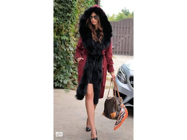 продам Кашемировое пальто с мехом из лисы LAFURIA бу в Ирпене