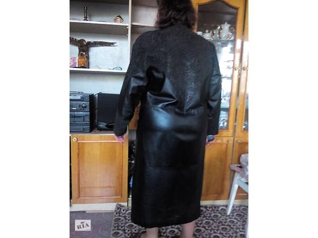 продам Плащ кожаный бу в Ромнах