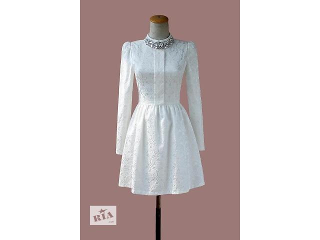Женское платье с длинным рукавом- объявление о продаже  в Киеве