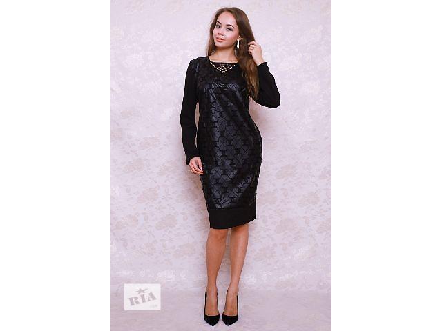 Жіноче плаття з еко-шкіри є великий розмір - объявление о продаже в Україні b578ed1733e56
