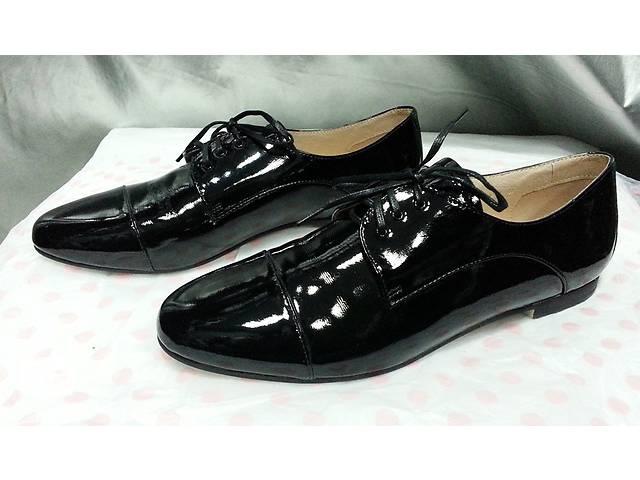 бу Женские туфли Attizzare ( Португалия ), новые, кожаные, лакированные, цвет - черный. в Киеве