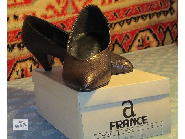 купить бу Женские туфли ,осенние, размер 38, новые в Днепре (Днепропетровск)
