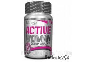 BioTech Витамины и минералы для женщин Active Woman (60 tab) Art. mypr-68294762