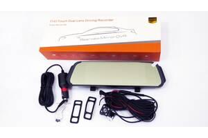 """DVR D038 Full HD Зеркало с видео регистратором с камерой заднего вида. 6,8"""" Сенсорный экран"""""""
