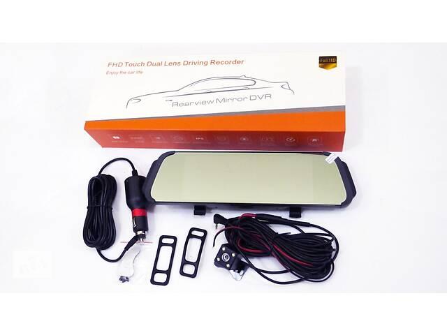 """DVR D038 Full HD Зеркало с видео регистратором с камерой заднего вида. 6,8"""" Сенсорный экран""""- объявление о продаже  в Одессе"""