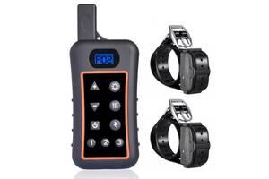 Электроошейник для 2-х собак дрессировочный Trainertec DT1200 V2 водонепроницаемый до 1200 метров (100709)
