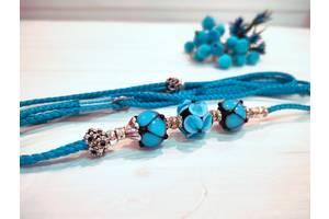 Коллекционная выставочная ринговка для собак голубая Blue Light от Pets Couturier SIMBA